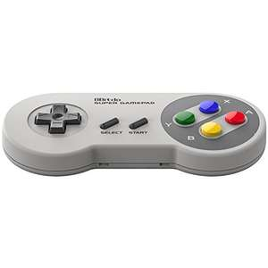 8Bitdo SFC30 Wireless Gamepad Bluetooth Controller - £21 Delivered Sold by 5PLUSH and Fulfilled by Amazon.