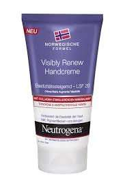 Claim one of 5,000 free samples of Neutrogena® Visibly Renew Hand Cream @ emerald street