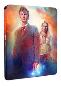 Doctor Who Series 2 Limited Edition Blu Ray Steelbook Zoom with code SIGNUP10 £21.59