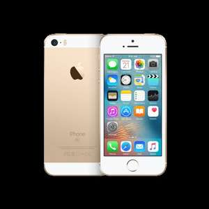 Apple iPhone SE 16GB Gold - Unlimited Mins & Texts - 1GB data - EE network - £17.99pm (£13.99/month via redemption) @ Mobiles.co.uk