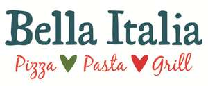 2 course Bella Italian meal for 2 was £42.96 now £18 / £9pp valid all through summer holidays @ Groupon