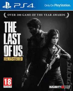 The Last of Us: Remastered used £13.85 at music magpie only 1 left