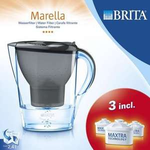 Brita Marella Water Filter Jug (Grey) + 3 Cartridges - was £17.99 now £11.99 @ Dunelm (C&C)