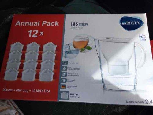 Brita Maxtra Annual pack £31.99 @ Dunelm (C&C)