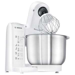 Bosch MUM4807GB Kitchen Food Mixer, White £55.20 - John Lewis