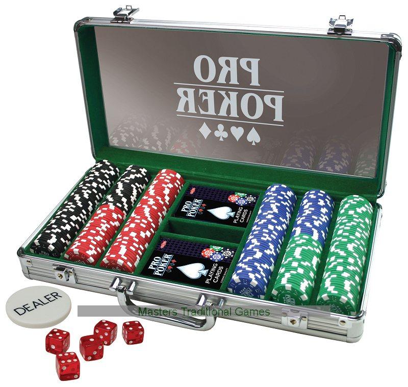 ProPoker Professional 300 Chip Poker Set - £17.99 @ Argos