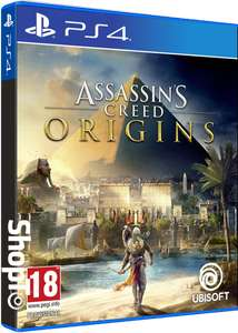 Pre-Order Assassins Creed Origins PS4 or XOne £39.85 @ ShopTo