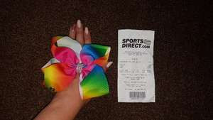 Jojo style bows sports direct instore for £2.50