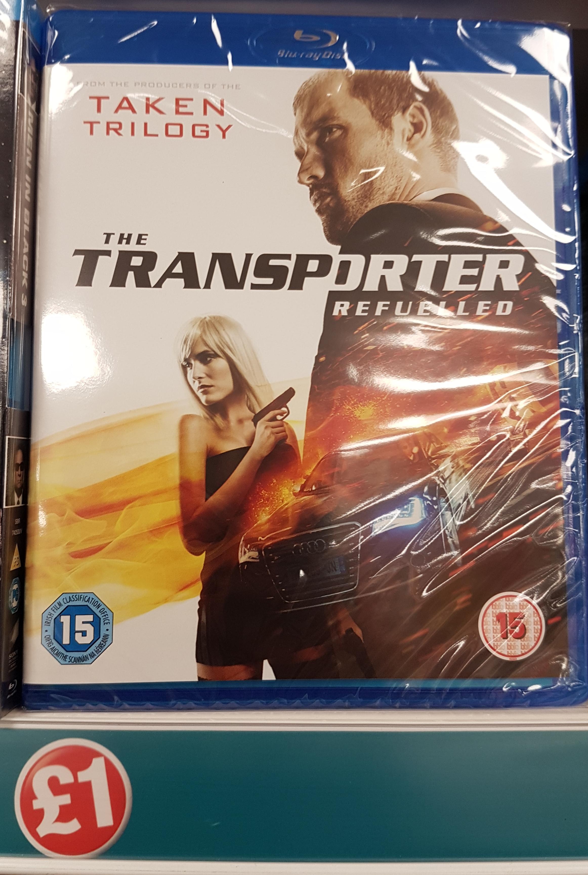 The Transporter Refuelled Blu-Ray £1 @ Poundland
