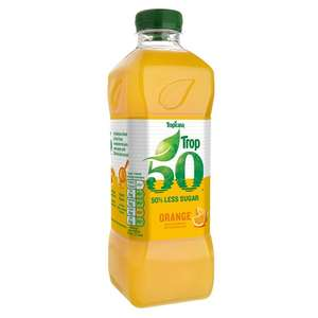 Tropicana Trop50 Smooth Orange Juice Drink 1L was £2.48 now £1.00 @ Morrisons