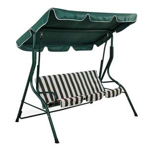 3 Person Garden Swing Bench Chair now £47.99 delivered @ Oypla