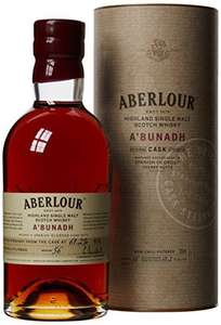 Aberlour A'Bunadh Cask Highland Single Malt Scotch Whisky, 70 cl £39 @ Amazon - lightning deal