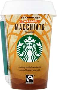 Starbucks Discoveries Caramel Macchiato 220ml was £1.60 now £1.00 @ Morrisons