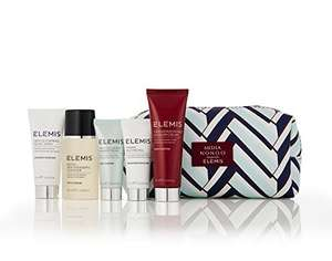 Elemis Free Gift ( 'worth £75.14' ) with two selected Elemis purchases. Minimum spend £9 delivered with Amazon Prime.