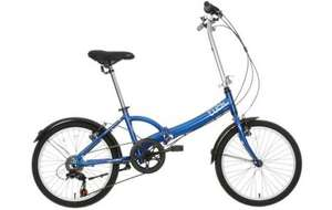 Apollo Tuck Folding Bike now £160 @ Halfords, free delivery or c&c