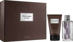 Gift Set Abercrombie & Fitch First Instinct Eau de Toilette Spray 50ml  & 100ml Fitch First Instinct Hair & Body Wash £22.95 - escentual