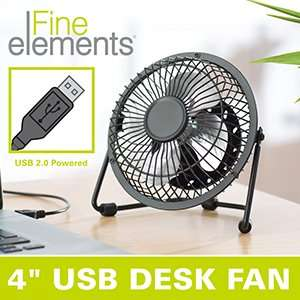 It's that time of year again. USB Powered Fan £2.99 Instore @ Home Bargains
