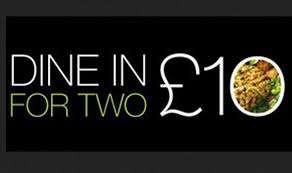 Marks and Spencer Dine in for 2 for £10 with free Wine or non-alcoholic alternative