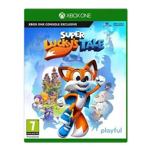 Super Lucky's Tale (Xbox One) Pre-Order £19.99 @ Microsoft/GAME