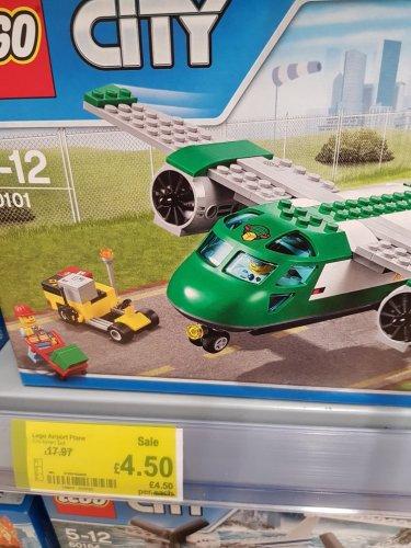 Lego Cargo Plane - £4.50 instore only @ ASDA