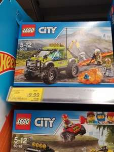 Lego Volcano/Mining - £9.99 instore only @ ASDA