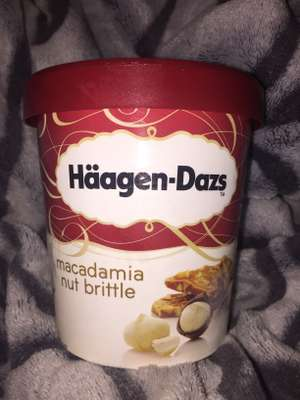 Häagen Dazs 500ml incream tub £1.49 @ Heron Foods macadamia nut brittle