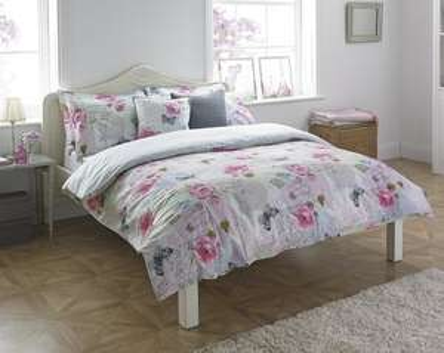 Riva Paoletti Rosebury Floral Duvet Set - £8.74 (Prime) £13.49 (Non Prime) @ Amazon