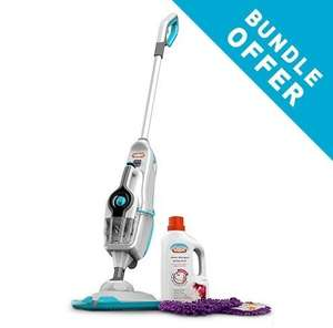 Vax Steam Fresh Combi Classic Steam Cleaner PLUS Pads and Steam Detergent Bundle £49.99 FREE Delviery @ Vax
