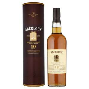 Aberlour 10 Year Old Speyside Malt Whisky 70cl £22 @ Morrisons