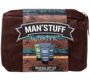 Man'stuff sets all reduced for Fathers Day eg Wash bag set was £9.99 now £5.99 - more in post @ Argos