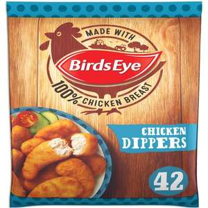Birds Eye Crispy Chicken Dippers (42 per pack - 770g) ONLY £3.00 @ Asda