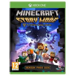 [Xbox One] Telltales Minecraft Story Mode Season Pass Disc - £7.29 (365 Games)