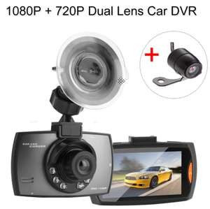 HD Dual LENS (Front and Back) Car Dashcam £19.33 @ ebay / Ali Express