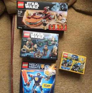 Lego Star Wars Luke's landspeeder 76173 £5 Asda in store