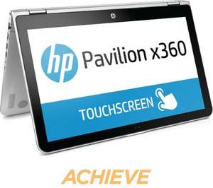 "HP Pavilion x360 15-bk150sa 15.6"" 2 in 1 Convertible Laptop  £499.99 @ Currys"
