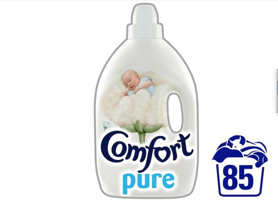 Comfort Pure Fabric Conditioner 85 Wash 3L £3 @ Tesco