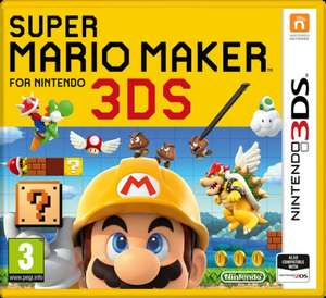 Super Mario Maker 3DS £20.95 @ Coolshop
