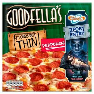 Goodfella's stone baked thin pizzas £1.25 at Morrison's was £2