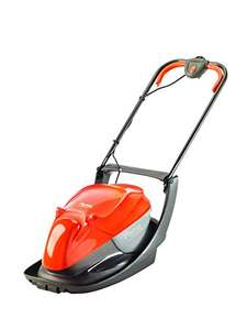 Amazon deal of the day Flymo Easi Glide 300 Electric Hover Collect Lawnmower 1300W - 30cm £54.99 down from £92