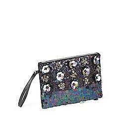 Upto half price summer sale across beauty, fashion, toys, kids and more eg Miss Selfridge 3D Applique clutch bag was £35 now £12 plus VAT free prices on fragrance @ Debenhams