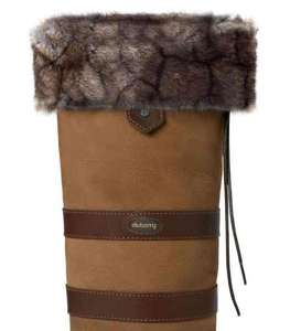 Dubarry Ladies Fleece Fur Boot Liners £5 + (£3.95 postage) down from £20 @ John Norris