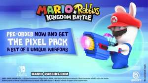 MARIO + RABBIDS KINGDOM BATTLE £35.99 (Switch) Pre Order 29th Aug (100 ubisoft points required)