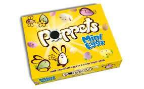 Poppets Mini Eggs 140g box now only 50p at Poundland (BB Sept 2018)