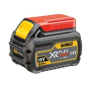 Dewalt flexvolt 6ah battery £89.96 from toolstop