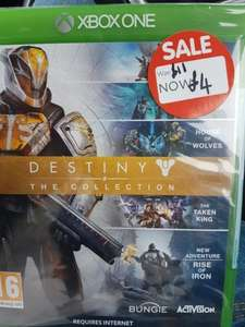 destiny the collection - £4 instore @ ASDA - Glasgow fort