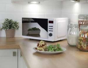 Russell Hobbs RHM2079A Solo Microwave, 20L 800w - White £40 @ Tesco Direct