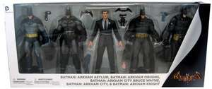 Batman Arkham Collectors 7 Inch Action Figure 5 Pack was £14.99 now £6.99 @ B&M