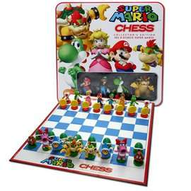 Super Mario Collector's Chess Tin (Was £39.99) £19.99 @ Game