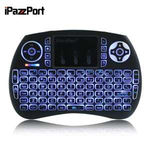iPazzPort Mini Keyboard Wireless (USB receiver) Black - £6.36 w/code Delivered @ Gearbest