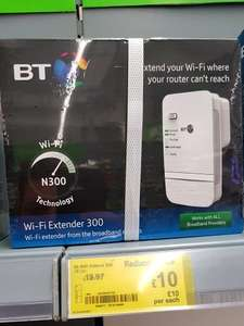 BT Wifi Extender instore at Asda for £10